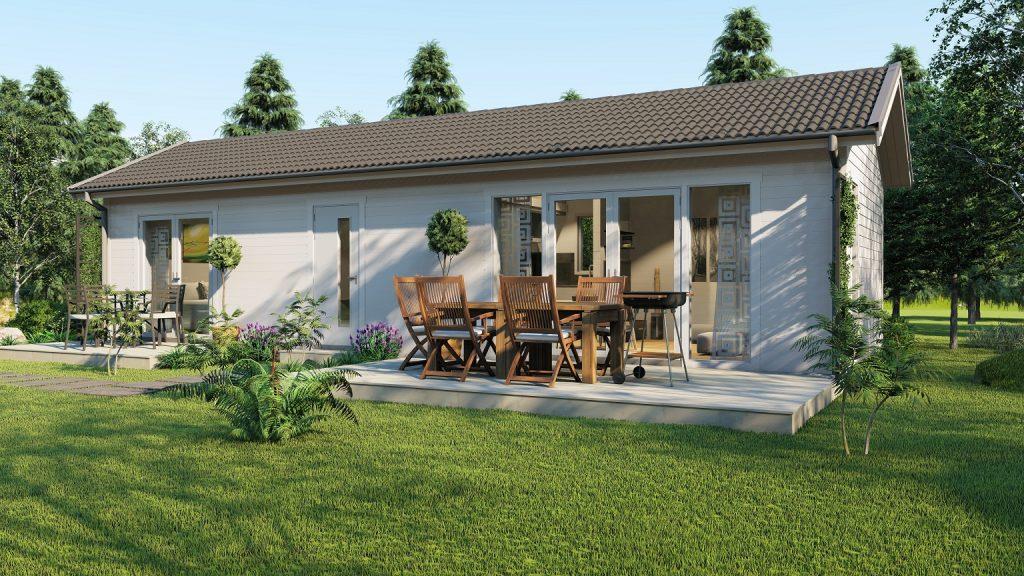 Bohus Classic 50 fritidshus med taklätta och loft