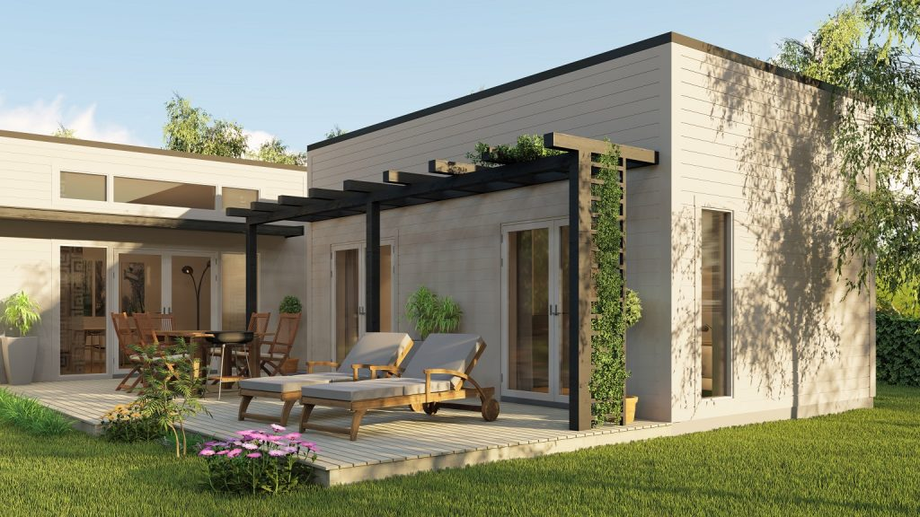 Bohus Modern Smart Villa 80kvm