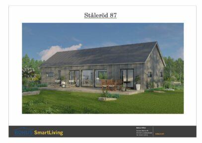 Bohus Ståleröd 87 fasad rendering