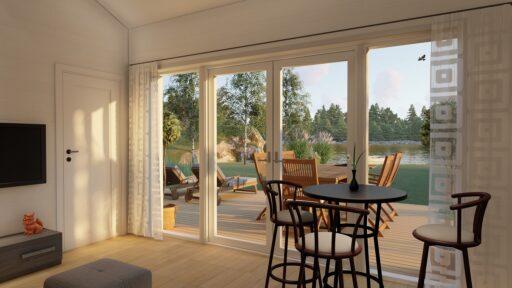 Illustration Bohus Classic 40 fönster
