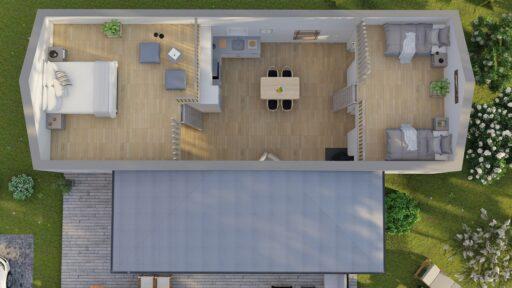 rendering loft classic 74